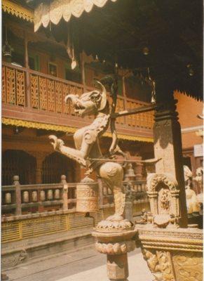 rat temple nepal. golden temple Kathmandu