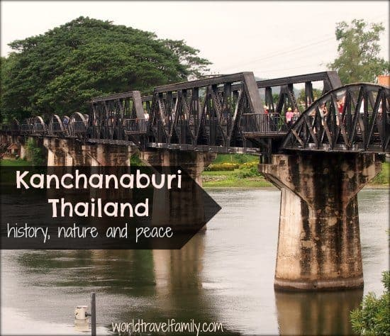The Bridge on the River Kwai. Kanchanaburi, Thailand. Bangkok to Kanchanaburi train, Accommodation in Kanchanaburi and things to do.