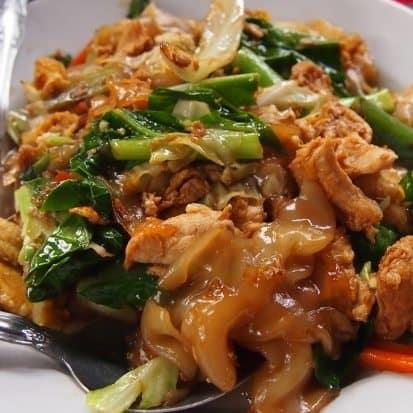 Thai food for beginners Pad Siew