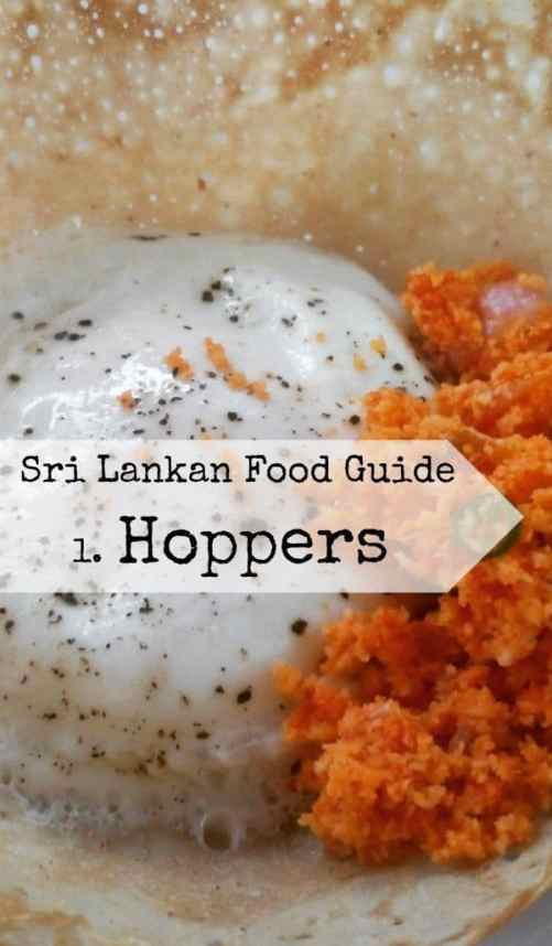 Sri Lankan Food Guide. What is a hopper? egg hoppers, plain hoppers, string hoppers and sweet hoppers, they're all good and the next big thing in pancakes.