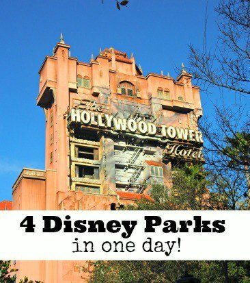 visit 4 disney parks in one day florida