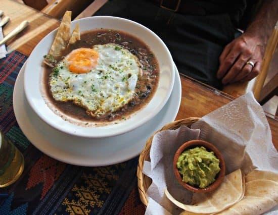 Food in Antigua guatemala vegetarian food