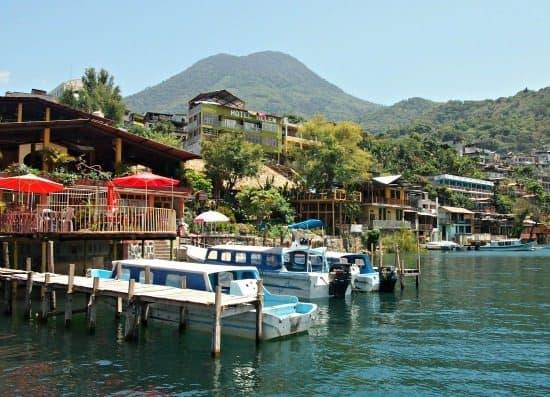 San Pedro La Leguna on Lake Atitlan Guatemala. Getting from Antigua to San Pedro La Leguna