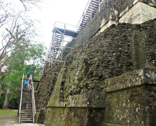 Guatemala Tikal with kids. Steps are Ok for kids