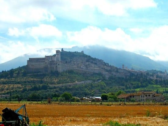 Assisi view World travel family blog