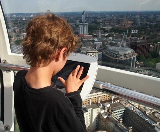 New Samsung Tablets on The London Eye