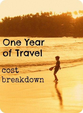 Cost of one year of travel cost breakdown world travel family blog