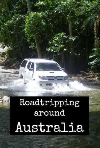 Roadtripping around Australia