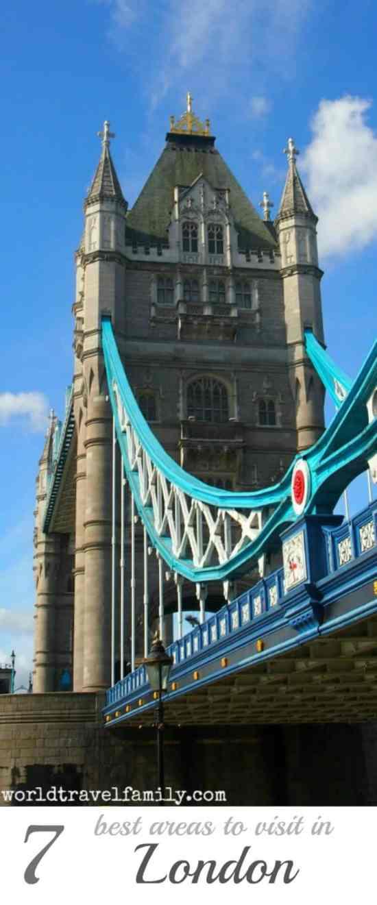 Tower Bridge 7 best areas to visit in London