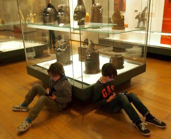 British Museum Audio Guides For Kids