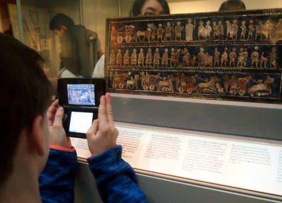 British Museum for kids photos