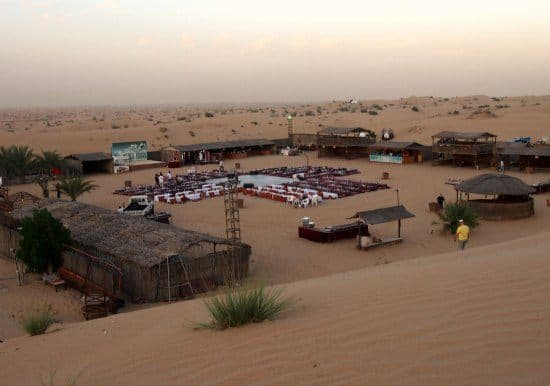 Desert Camp, Desert Safari Dubai