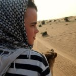 Camel Safari with kids Dubai