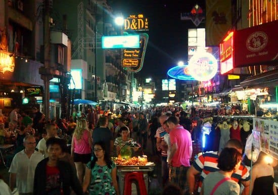 Khao San Rd. Bangkok. How to Haggle in Bangkok