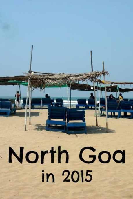 Anjuna and Noth Goa 2015