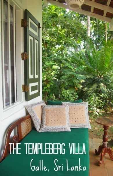 The Templeberg Villa Galle Sri Lanka. Great family accmmodation near beautiful Galle. Sri Lanka travel