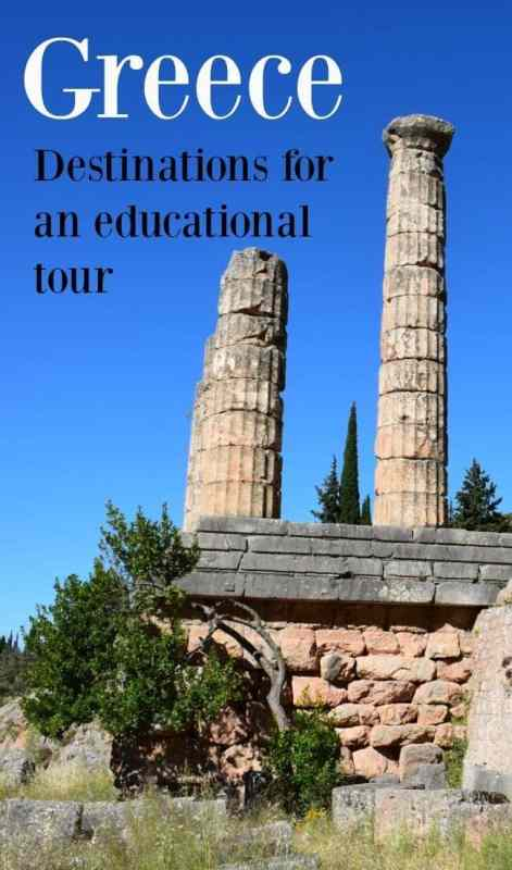 Some of the best places to visit in Greece for history, mythology, archaeology and education. A wonderful family holiday and tour of mainland Greece and the Peleponnese.