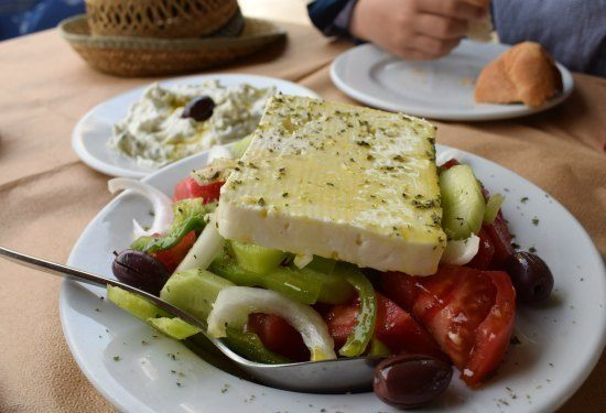 Touring Greece. Food and food costs.