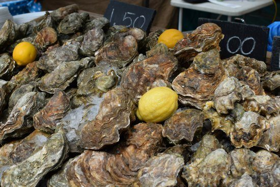 -Greenwich Market Food Stalls oysters