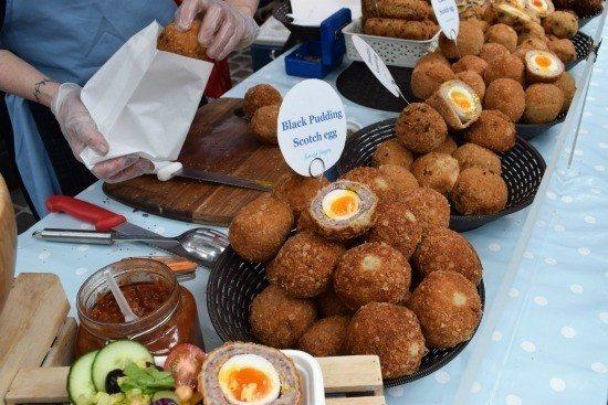 London Street Food Greenwich Market Scotch Eggs