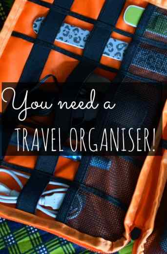 best travel organiser. I'm trialling a travel organiser, to see if they're worth investing a huge $20 in. My verdict....love it! Best travel organiser