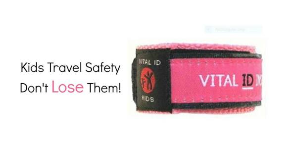 Kids Travel Safety. Travel ID wristbands, tattoos and wrist restraints