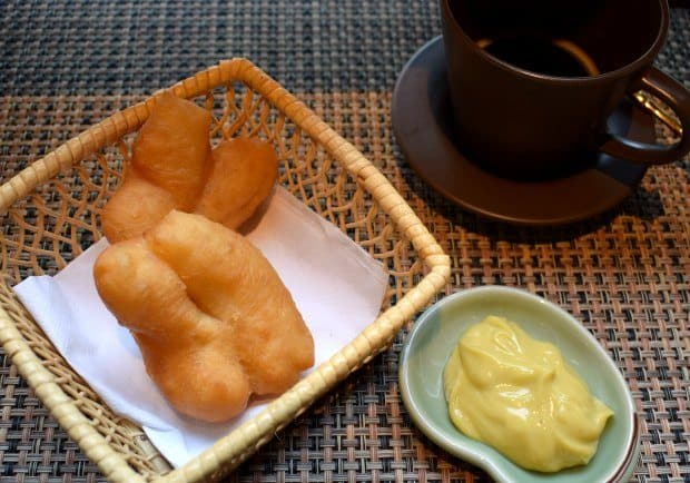 Breakfast at Old Capital Bike Inn Bangkok Thailand