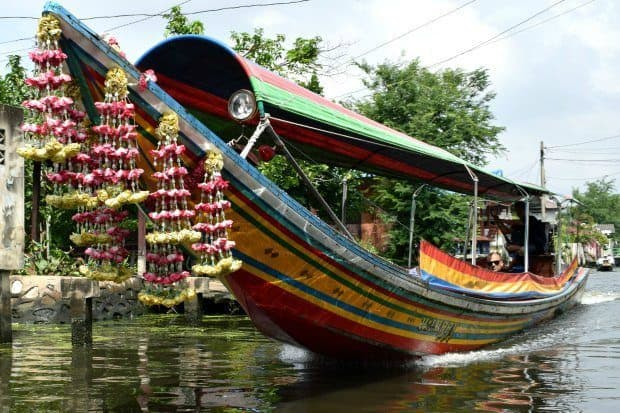 long tail boat tour Bangkok. Things to do in Bangkok