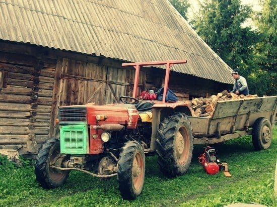 wood delivery Romania