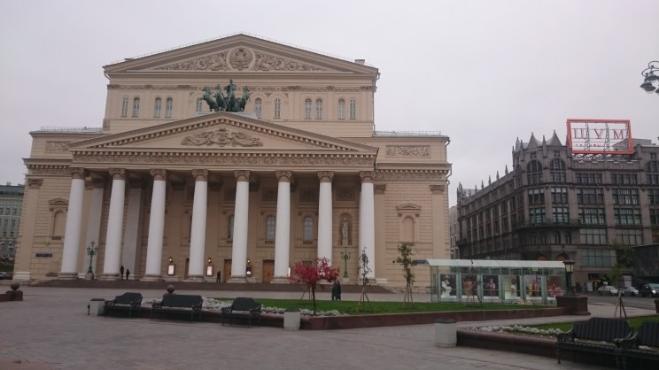 Bolshoi Theatre by day