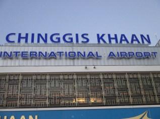 Chinggis Khaan International Airport in Ulaanbaatar