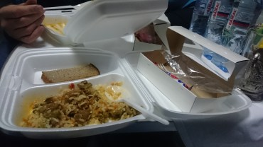 Food which was included in my ticket