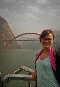 With a new bridge next to Chongqing