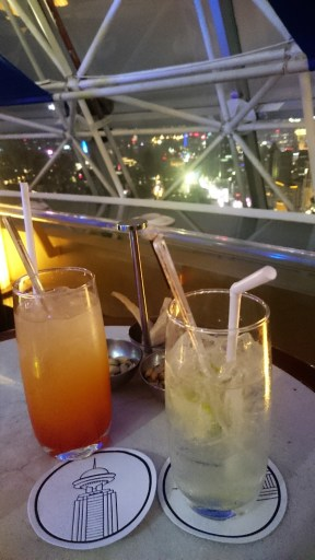 Drinks from the 47th floor