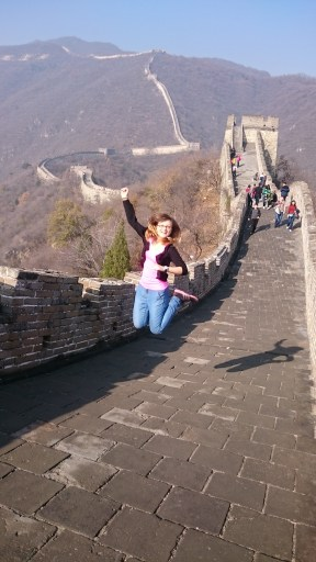 What an experience! I love the Great Wall!