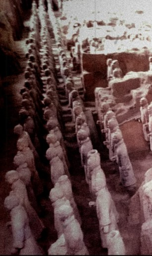 Terracotta Army, built over 2000 years ago