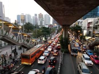 Traffic in Bangkok