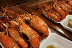 Shrimps at Ratchada Night Market