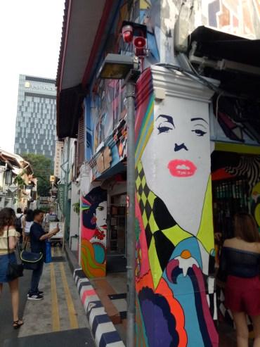 Haji Lane Streetart