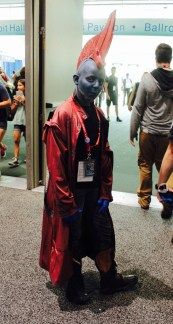 Yondu,a character from the Guardians of the galaxy movie