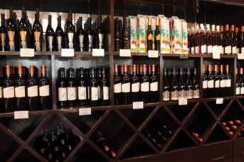 Fine wine selections