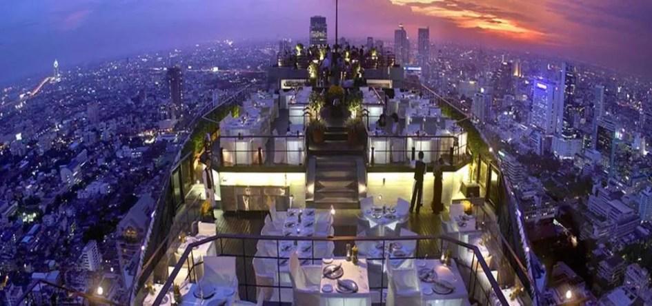 Bangkok 3 day itinerary - Rooftop bar