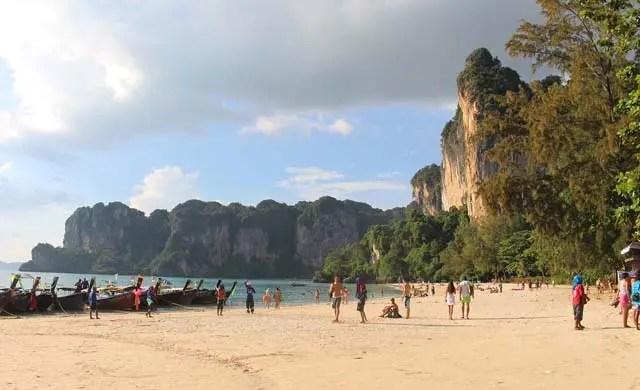 Thailand 2 week itineraries - Railay Beach