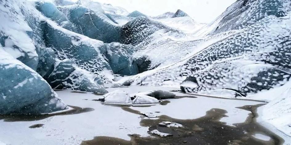 Solheimasandur Glacier