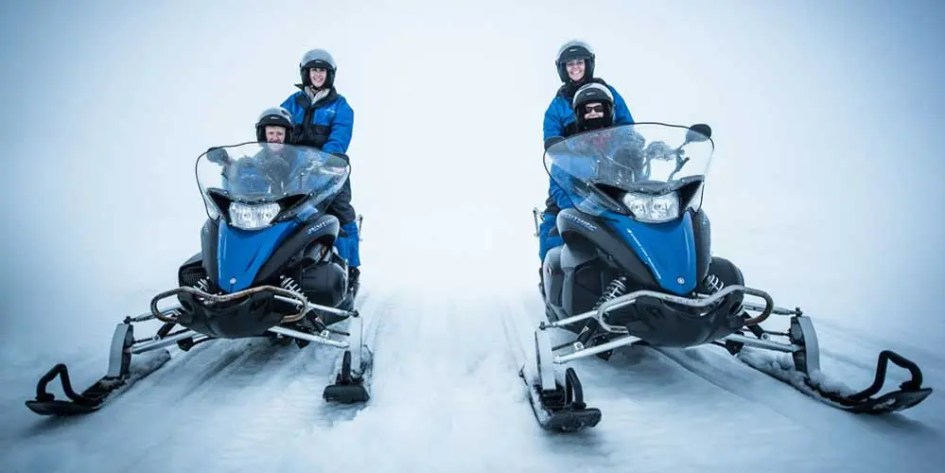 Iceland adventure activities - snowmobile tour
