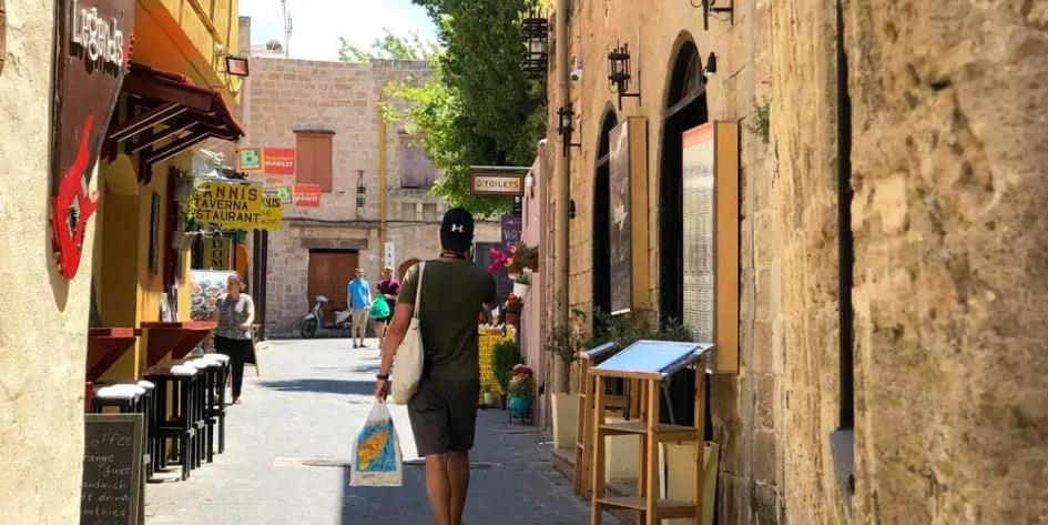 Shopping in Rhodes Town