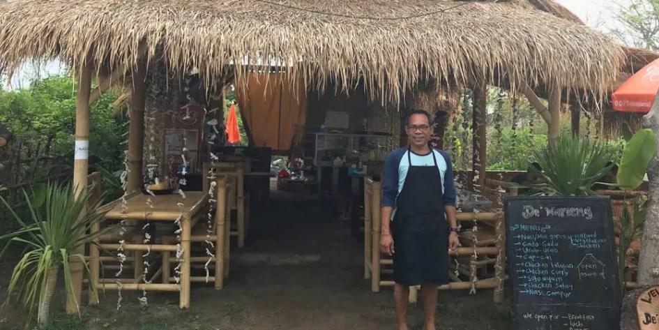 Waroeng Alam Damai restaurant Gili Air