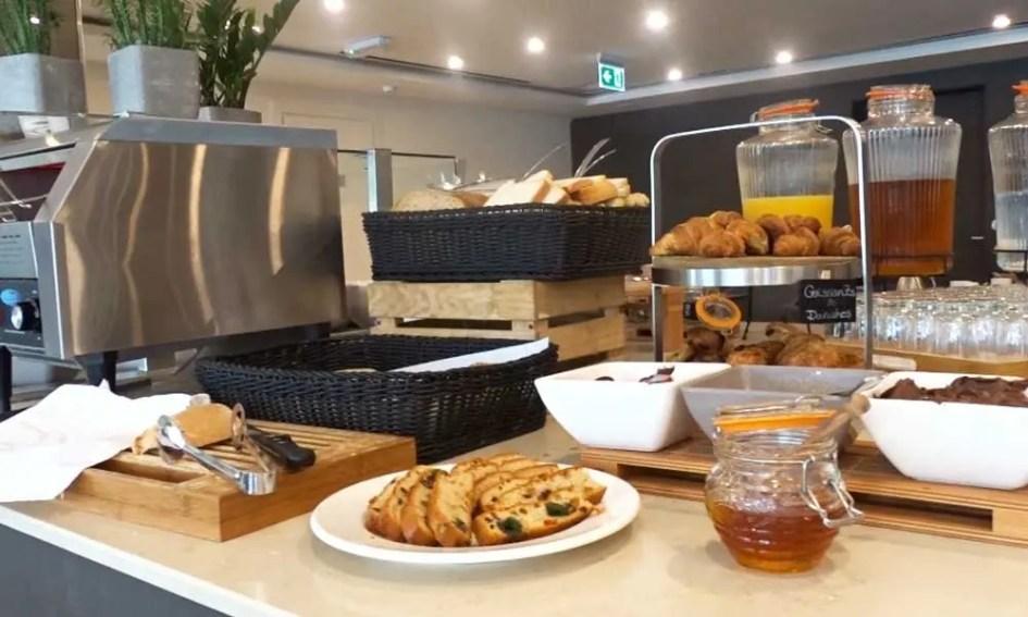 Urban Valley Resort buffet breakfast