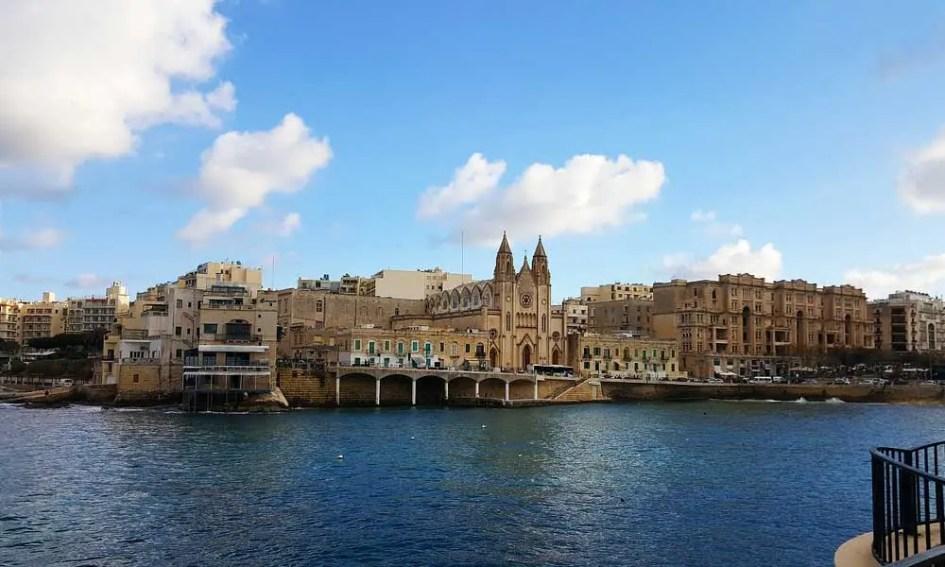 Where to stay in Malta - Sliema