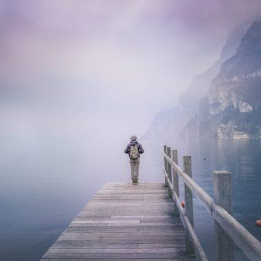Traveling Solo - Lake Photo